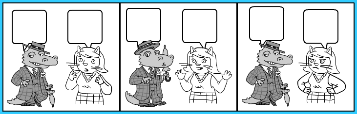 Comic Strips Without Words Printable | galleryhip.com - The Hippest ...